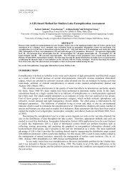 A GIS-based Method for Shallow Lake Eutrophication Assessment