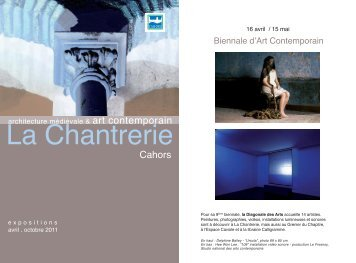 Biennale d'Art Contemporain - Cahors