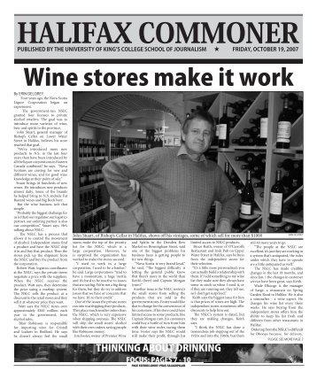 Wine stores make it work - Archived King's Journalism School ...