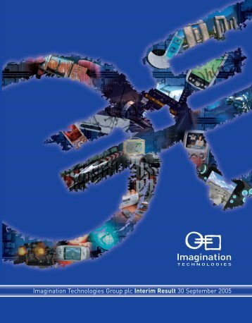Imagination Technologies Group plc Interim Result 30 September ...