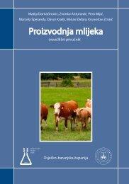 Proizvodnja mlijeka (pdf 1.5 Mb) - Osječko baranjska županija
