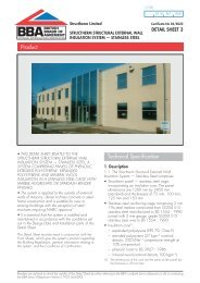 Structherm Structural External Wall Insulation System - Stainless Steel