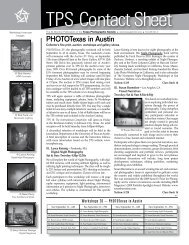 TPS Contact Sheet - Texas Photographic Society