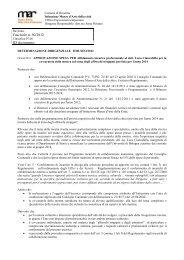 Affidamento incarico professionale al dott. Luca Ciancabilla per la ...