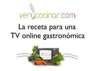 Presentación de Verycocinar.com en FICOD08 - Networking Activo