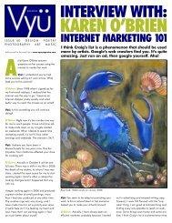 KAREN O'BRIEN - Vyu Magazine