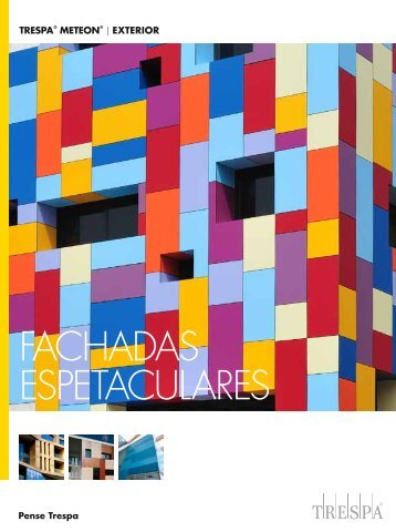 fachadas espetaculares - Trespa