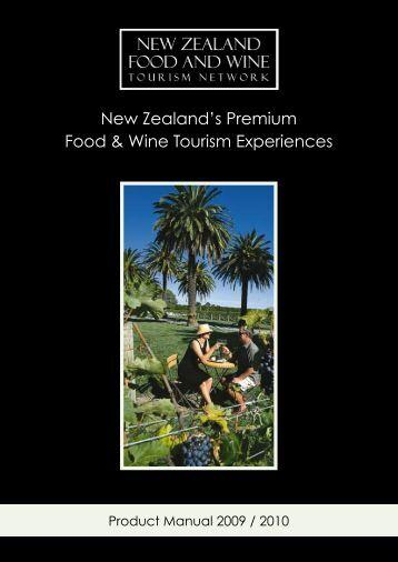 New Zealand's Premium Food & Wine Tourism Experiences