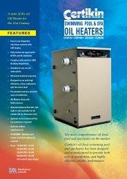 OIL HEATERS - PoolStore UK Ltd.
