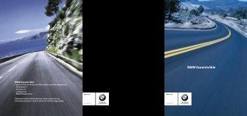 BMW Garantivilkår PDF-fil for nedlasting (431 kB).