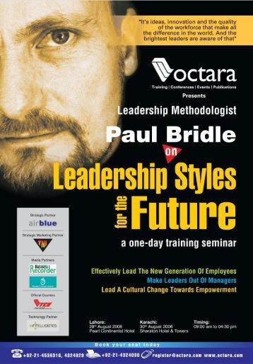 Leadership Styles for the Future - Octara.com