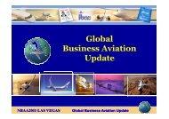 Global Business Aviation Update - NBAA