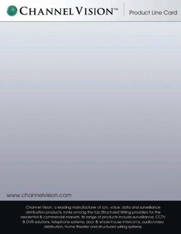 Channel Vision - AM Distributors