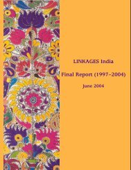 LINKAGES India Final Report (1997–2004) - Linkages Project