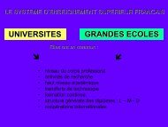 UNIVERSITES GRANDES ECOLES ⬋ - Cisi