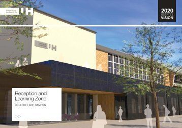Reception and Learning Zone >> - University of Hertfordshire