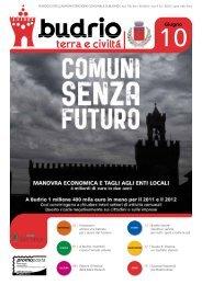 Notiziario comunale del mese giugno 2010 - Comune di Budrio