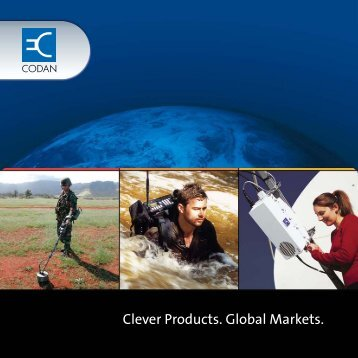 Clever Products. Global Markets. - Codan, Ltd.