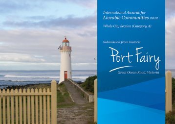 Port Fairy, Victoria, Australia - The International Awards for Liveable ...