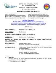 11-12-12 Agenda Packet.pdf - City of New Braunfels