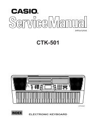 Casio CTK501 service manual.pdf - warning will robinson