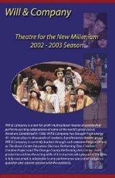 Touring Brochure - Will & Company