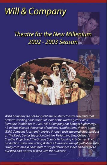 Touring Brochure - Will & Company