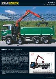 Brochure M143Z84TI Kipper - Palfinger