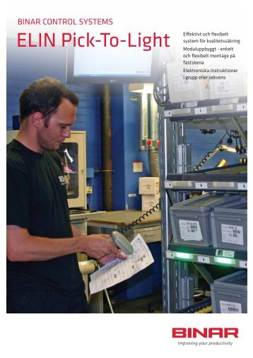 ELIN Pick-to-Light (pdf) - Binar Elektronik