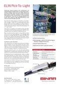ELIN Pick-to-Light (pdf) - Binar Elektronik - Page 2