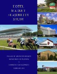 Hotel Market Feasibility Study - Village of Arlington Heights