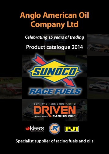 Anglo American Oil Company Ltd - SODIFUEL RACING