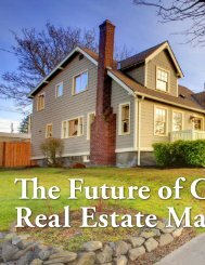 The Future of Canada's Real Estate Market - Assante Wealth ...