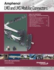 LMD and LMS Modular Connectors - Amphenol Aerospace
