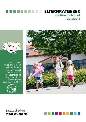Elternratgeber zum Schulbeginn - Stadt Wuppertal