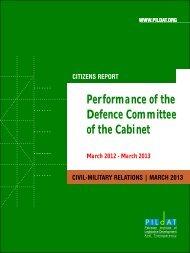 Download Report [PDF] - PILDAT