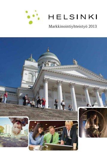 Markkinointiyhteistyö 2013 -manuaali - Helsinki