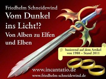 Folien zu diesem Vortrag - Incantatio.de