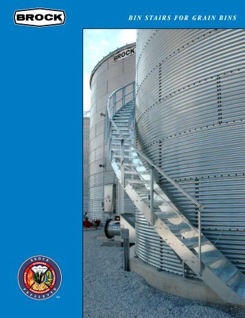 brock shur-step® bin stairs for grain bins