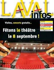 Fêtons le théâtre le 8 septembre ! - Laval