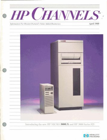 Hewlett - HP Computer Museum