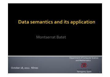 Montserrat Batet - LGI2P