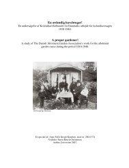 En ordentlig havebruger! - Dansk Center for Byhistorie