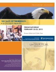 eagles xv agenda - Gathering of Eagles