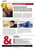 Netwerkevenement Zaanbusiness Borrel groeit uit naar… … een ... - Page 4