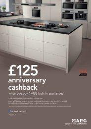anniversary cashback - Arlington Interiors