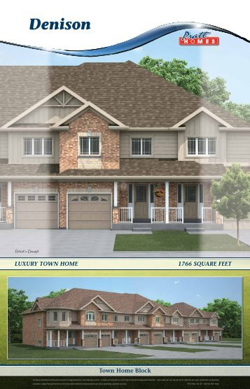 Denison - Pratt New Homes Innisfil