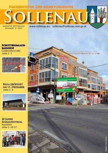 Gemeindezeitung - Sollenau
