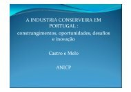 A INDUSTRIA CONSERVEIRA EM PORTUGAL : constrangimentos ...