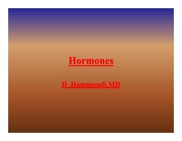 Hormones - Sinoe medical homepage.